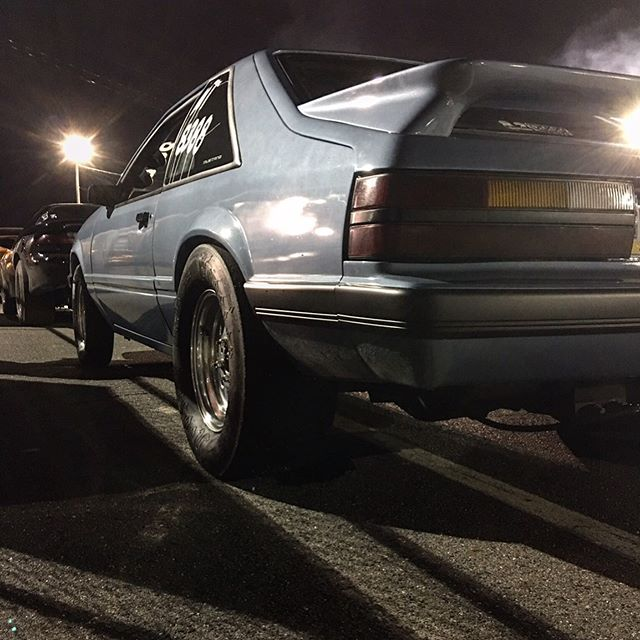 """""""The road I cruise is a bitch now baby""""...... #mustang #mustang50 #foxbody #foxbodymustang #foxbodysonly #foureyedpride #1986 #beenawile #stickshiftmafia #82deckmafia #shitsslow"""