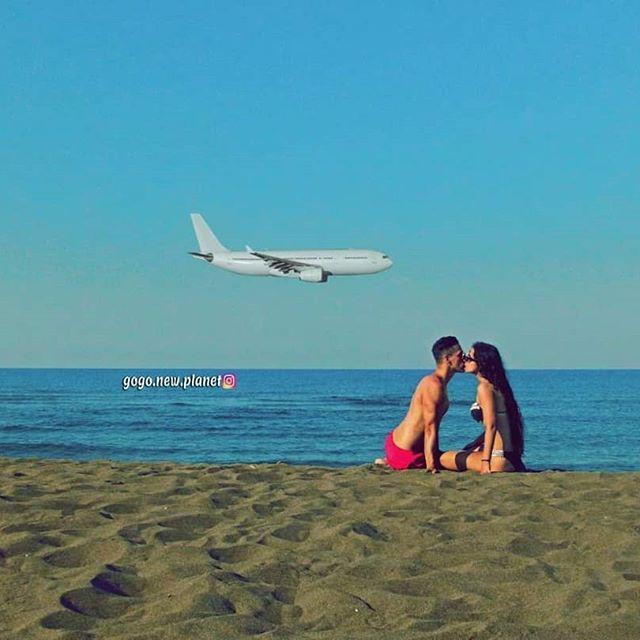 Ako želiš letjeti, moraš odbaciti stvari koje te vuku prema dolje...✈🌊✈🌊✈🌊 If you want to fly, you have to drop the things that drag you down...🌊✈🌊✈🌊 #coupletravel #couplephoto #coupleshoot #couplephotography  #kisskiss #funfun #sunce #alwaysagoodtime #plane_photos #avion #planespotter