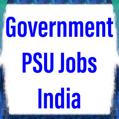 Government PSU Jobs India