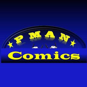 P Man Comics