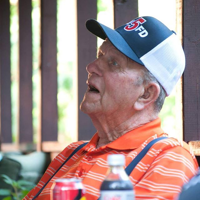My Papa passed away Friday. He lived a wonderful 90 years being a farmer and playing golf. He will be greatly missed by so many! I'm sad he's gone but so happy that he's no longer suffering.