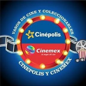 vasos de cine y coleccionables