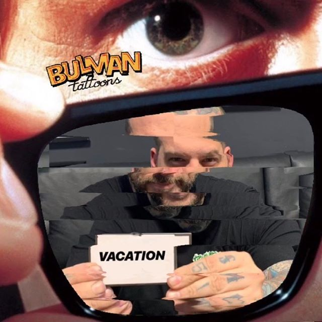 """Hello fellow consumers,  To whom it may concern, I thomas bulman aka """"bulman tattoons"""" of sound mind will be taking a short commercial break until this Fridays scheduled programing . I CHOOSE TO NOT OBEY OUR FELLOW WATCHERS....now who's got a stick of bubble gum? i got ass' to kick!  you may now continue with your regular scheduled programming......sheep....."""