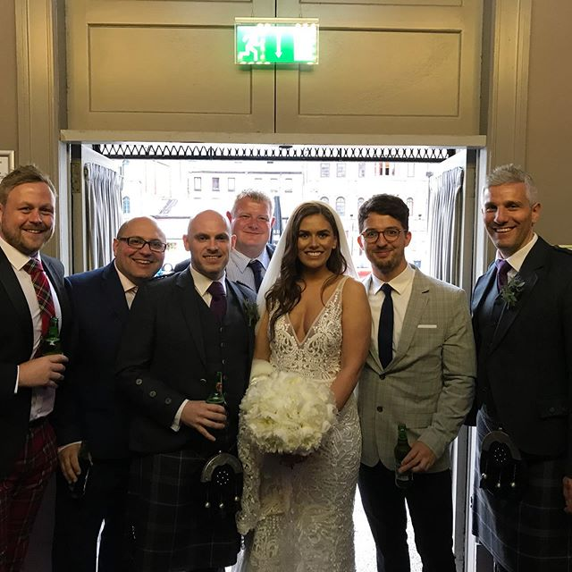 Saturday was the best wedding of the year by far! Delighted to see @beth_m90 and @mccready_ryan tie the knot!  Great couple and a great day! Thanks for letting me be part of it! #rugbywedding #friends #party #mrandmrs