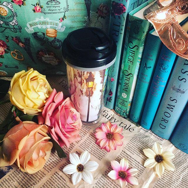 """Rep post Friday! ⭐️ #QOTD : Which one do you have more, tumblers or mugs? • I love both, but I have more tumblers than mugs right now 😍 • • (🇬🇧) As a proud Rep for @elfcrate , a bookish box shop from Indonesia, lemme show you how cute this The Hobbit x Narnia Tumbler from their High Elf (large type) July box """"Kingdom of the Elves""""!! I'm ready to use it for my coffee 😚☕️ • • (🇲🇨) Sebagai Rep untuk Elf Crate, bookish box asal Indonesia, saya kembali lagi mau tunjukin ke temen-temen Tumbler The Hobbit x Narnia yang cantik dari box High Elf (tipe besar) bulan Juli yang bertema """"Kingdom of the Elves""""!! Pas banget buat minum kopi susuuu 😚☕️ • Bagi kalian yang terlewat pemesanan box Agustus dengan tema """"Wings from Above"""", jangan khawatir karena Elf Crate sedang mempersiapkan box September yang pastinya ga kalah keren!! ⭐️ • Pantau terus akun Elf Crate, dan saat pemesanan box September nanti jangan lupa pakai kode saya """" ELFAMEL10 """" biar kalian bisa dapat harga spesial 😍⭐️ • Have a nice day! • #ad #reppost #elfcrate #tumbler #bookishtumbler #narnia #lordoftherings #lotr #thehobbit #bookishbox #bookish #bookstagram #booklover #bookdragon #bibliophile #YAreads #YAfantasy #book #bookaesthetic #bookporn #bookaholic #bookphotography #ylikoob #bookishalgor"""
