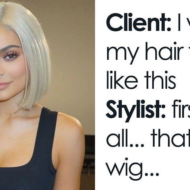 We love a good wig! ❤️