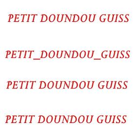 Petit Doundou Guiss