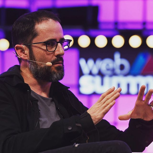 """""""The fundamental problem is that we created a world where attention is rewarded."""" 🌐  Founder of @twitter Ev Williams speaking about the evolution of #socialmedia on Centre Stage at #WebSummit 📈  Very excited to welcome him to our North American event, @collisionconfhq in May ✨ #linkinbio"""