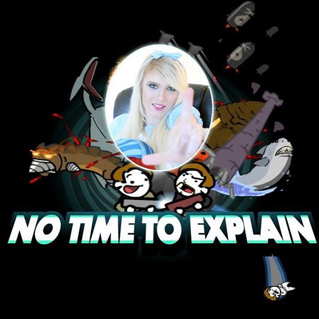 Second episode - a lets play of No Time To Explain ;) #anime #japan #videogames #gamergirl #blonde #cute #otaku #letsplay #tvshow #youtube