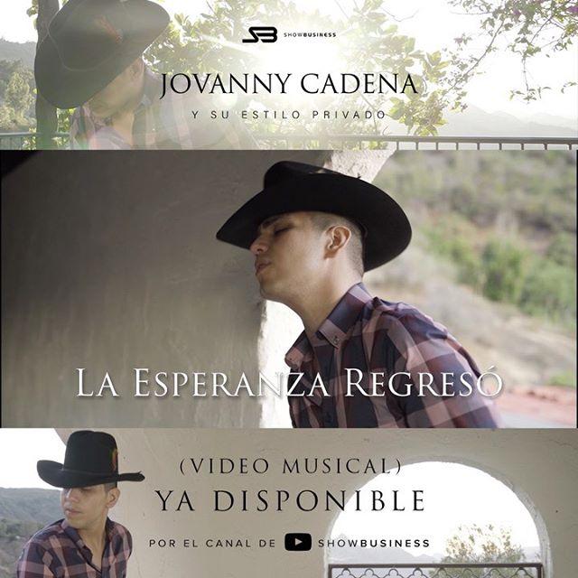 Ya pueden disfrutar del video musical La Esperanza Regresó❤️ a través de @youtube Por el canal de @showbusinessinc . Espero que lo disfruten y se vale dedicar 😘 #vivaelamor ❤️#laesperanzaregreso #jovannycadena 💥🔥