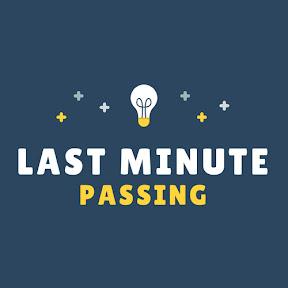 Last Minute Passing