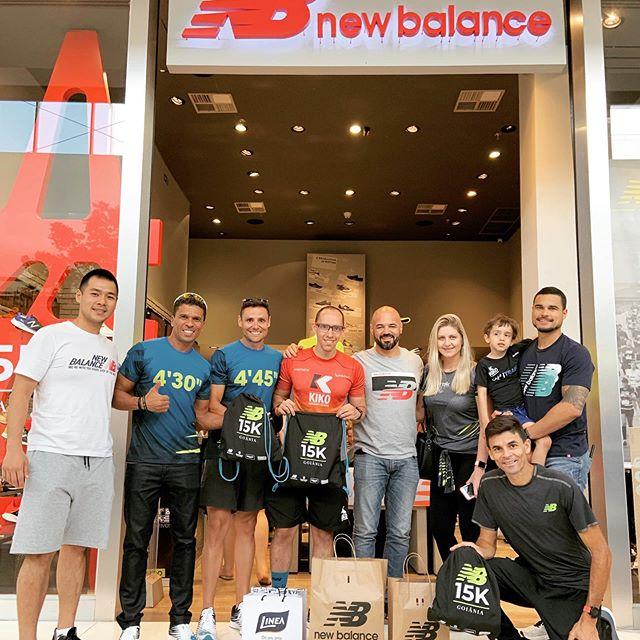 Time New Balance pronto para a #NB15KGO #kikopersonal #kikoperformance #kikotreinamentoesportivo #parceriadegigantes #parceriadesucesso @newbalance_br @sportetracks