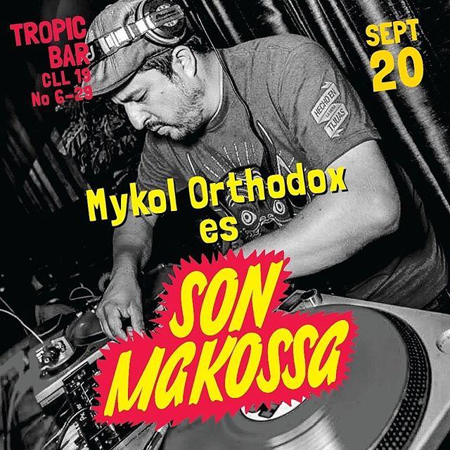 @mykolorthodox es #sonmakossa  Y desde la ciudad de mexico nos trae lo mejor del reggae music para ponernos a bailar. . . . @sonmakossa #fiesta #goodvibes #partypeople #centro #downtown #reggae #afrohouse #music #bogota . . . @sonmakossa @elkikerojas @mixtiiii @radiomixticius @kmmy_ranks