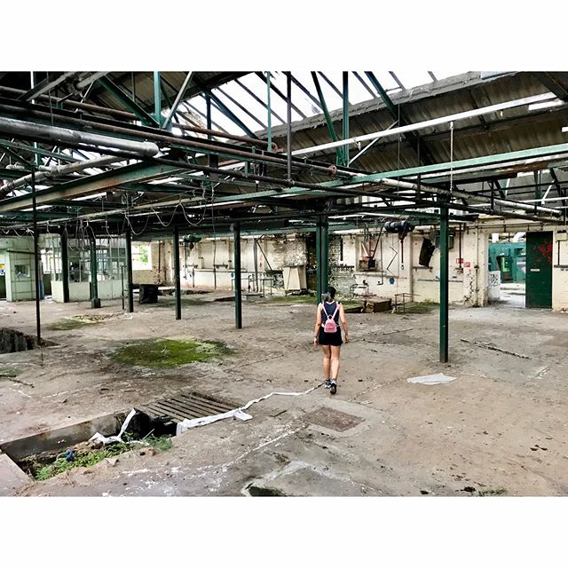 Went exploring. Found a ouija board. Got possessed. Top bank holiday Sunday. • • • • • #urbanexploration #urbexuk #factory #urbex #derby #abandonedplaces #abandoned #bankholiday