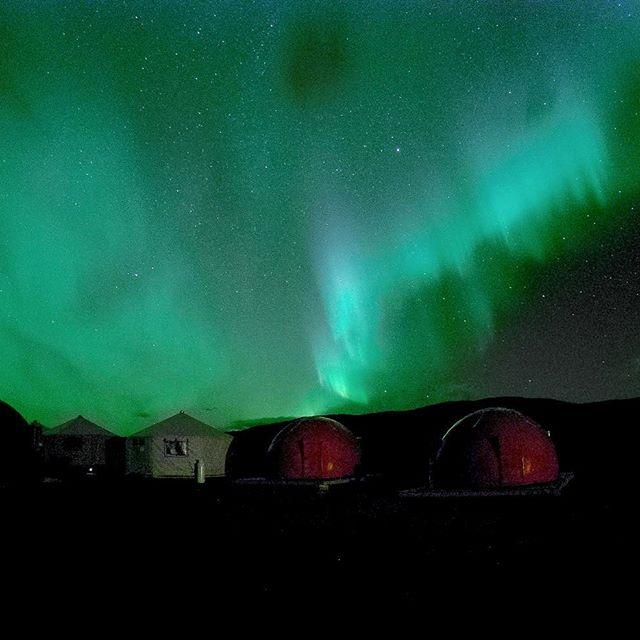 The Aurora Borealis never disappoints up here😍.... #thetorngats #lightshow #northernlights #auroraborealis #aurora #torngatmountainsnationalpark #parkscanada  #explorenl #getoutside #exploretorngats #nunatsiavut #gopro #newfoundlandandlabrador
