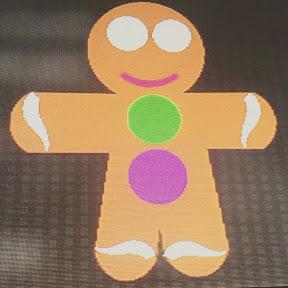 cod the gingerbread man