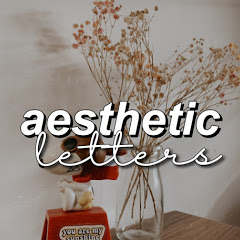 aesthetic letters