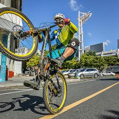 자전거 타는 백두산