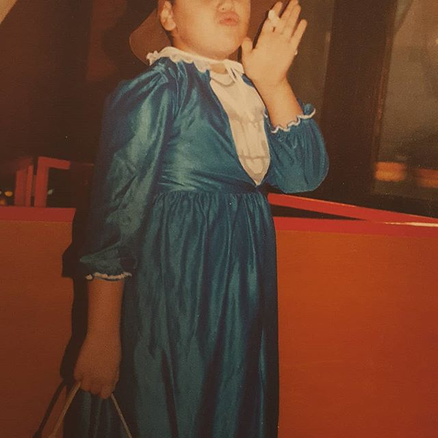 sassy, classy & a little bad assy. 🤴  Who would have known? 🤣 Sep. 2003, 8 years old. Smol Kiko 👶  #sassy #classy #assy #bluedress #2003 #8 #Heilbronn #funmemories