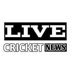 Live Cricket News