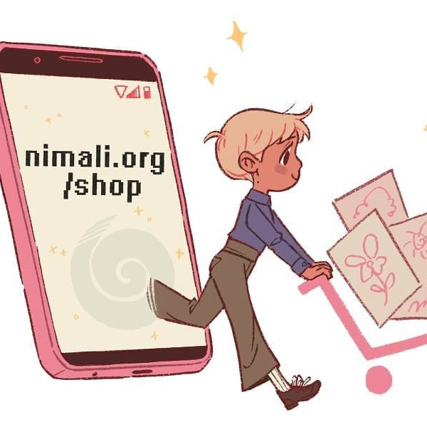 My shop is open! ⭐nimali.org/shop⭐ I am selling prints, keychains, and other things too, hopefully in the future I'll have more to add. Thank you!! ♥️♥️