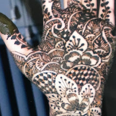 Easy Mehndi Art by puja