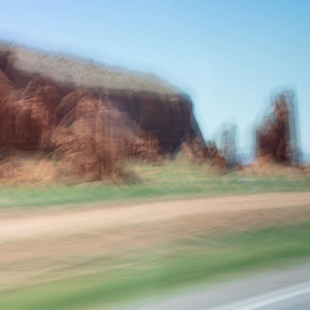 """While driving across the barren emptiness of northern Arizona back in July a video by @heatonthomas came to mind. In it he experimented with #ICM (intentional camera movement). I figured what the hell and this is the result. It, like """"fine art"""" photography definitely doesn't speak to me/isn't really my cup of tea - but I do like how some of these came out. Always good to experiment and dabble a bit."""
