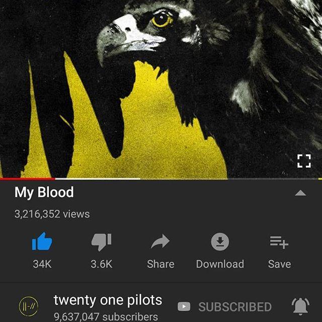 Hoje faz um ano que o áudio de My Blood chegou ao YouTube e demais plataformas digitais. A música ganhou um clipe cerca de 1 mês depois. O que você sentiu quando ouviu a música pela primeira vez? Onde estava?