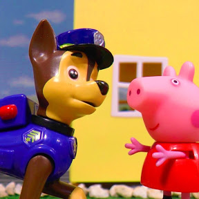 Paw Patrol and Peppa Pig Toy Stories