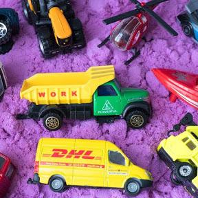 Jouets pour enfants camions