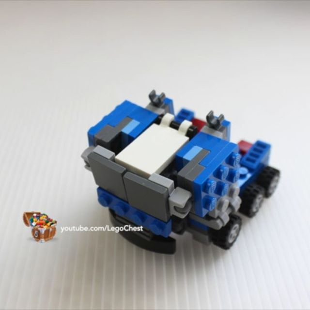 Sound on! Created another LEGO Transformer that really transforms! (Must see link in bio!) . . #lego #legomoc #legocreator #legofan #legolife #transformer #transformers #legotechnic #itworks #brickgeekz