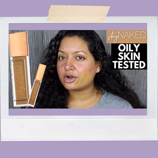 Tested the @urbandecaycosmetics Stay Naked Foundation and Concealer for an entire week ➡️https://m.youtube.com/watch?v=mslAD0UebPo . . . . . . . #urbandecay #staynakedfoundation #staynaked #staynakedconcealer #urbandecaystaynakedfoundation #urbandecaycosmetics #urbandecayreloaded #60NN