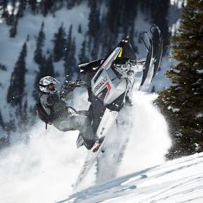 Snowmobiles Snow Track