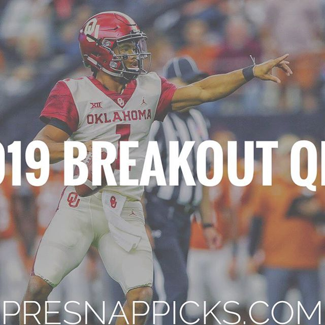Can #Kylermurray defy the doubters and help you win your #fantasyfootball championship!?! 🤷🏻‍♂️🤷🏻‍♂️🤷🏻‍♂️🤷🏻‍♂️ See where you need to target Murray if you want 2019's breakout QB. 🔥🔥🔥 #cardinals #nfl #fantasysleepers #nflfantasy