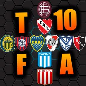 Top 10 Fútbol Argentino