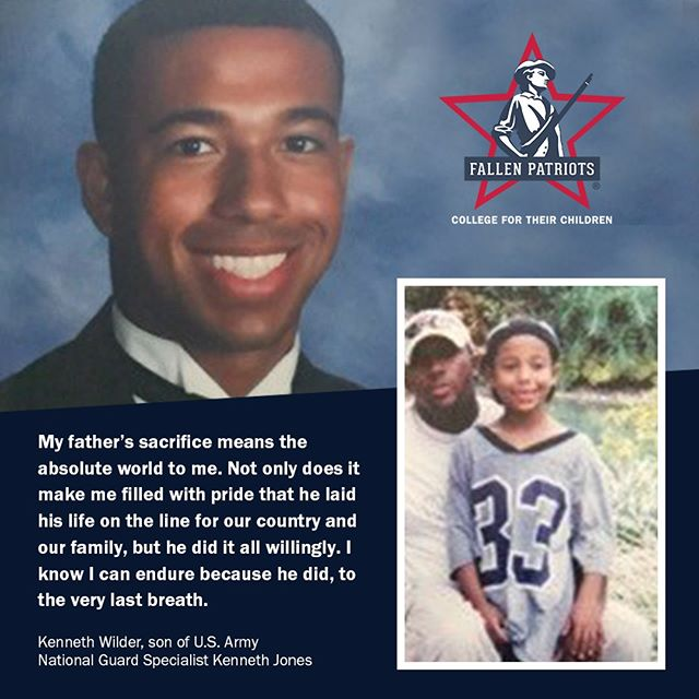#FallenPatriots' mission is to provide college scholarships and educational counseling to military children who have lost a parent in the line of duty. We believe this is an important investment in the future of America. #HonorTheFallen #CollegeForTheirChildren 🇺🇸