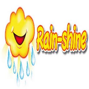 Rain-shine childrens waterproof clothing