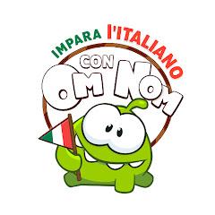 Learn Italian with Om Nom