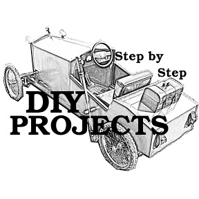 DIY projects - step by step