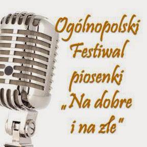 """Festiwal piosenki dziecięcej i młodzieżowej """"Na dobre i na złe"""""""