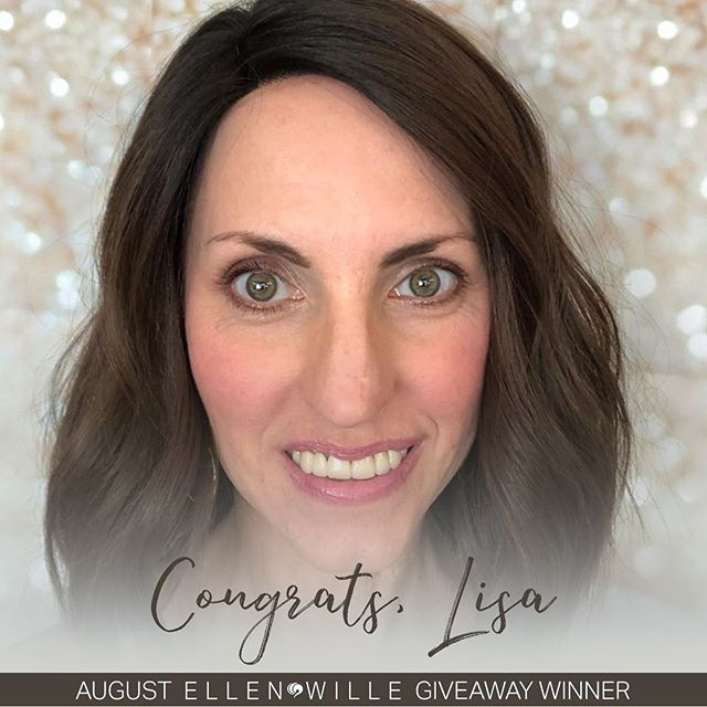 Congrats to our August Ellen Wille Giveaway winner, Lisa (Brunette Wig Place)! Will YOU be next month's lucky winner? Be sure to enter September's Giveaway TODAY!