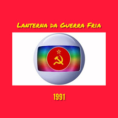 """Lanterna da Guerra Fria """"Isto é URSS"""""""