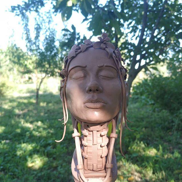 #скульптура #clayart #sculpture #cyberpunk #clay