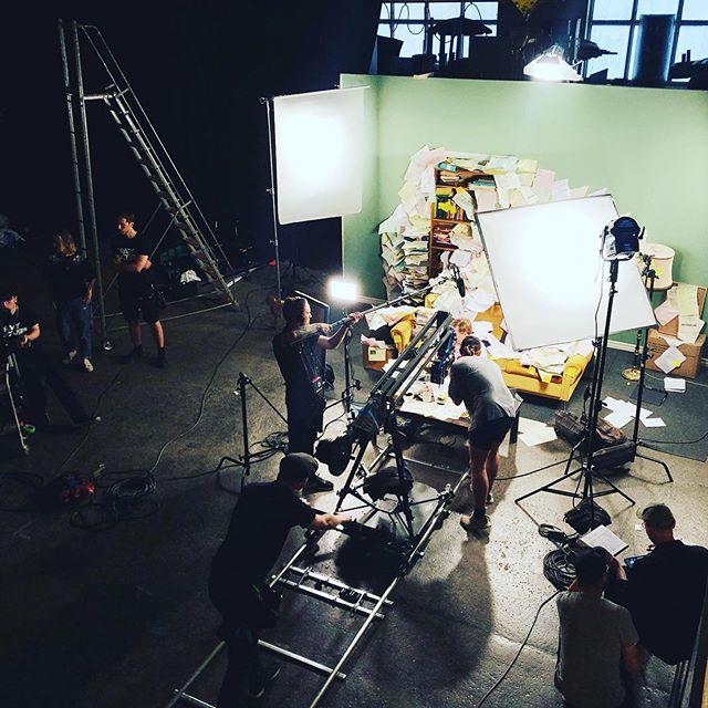 Maxad reklamfilmsinspelning idag! #crazypicturesstudios #reklamfilm
