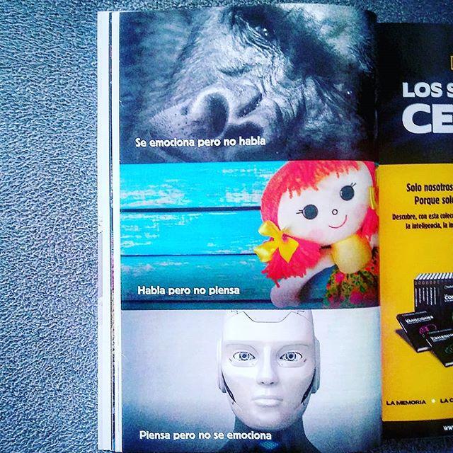 #robot #androide #maquina #machine #hablar #pensar #oir #escuchar #emocion #sentimiento #sentir #figura #muñeco #muñeca #gorila #mono #mirada #ojos #eyes #humano #humanoide #ser #hombre #mujer #cerebro #vivir #life #instagram #instagramers #photo