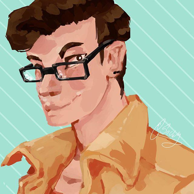 Happy birthday @littlestlegacy!! Here is a lil portrait I made of u. 😊 . . . . . #art #draw #drawing #arting #sketch #sketchbook #character #oc #originalcharacter #digitalart #illustration #artworks_artist #medibang #digitalart #medibangpaint #medibangpaintpro #portraitpainting #artportrait
