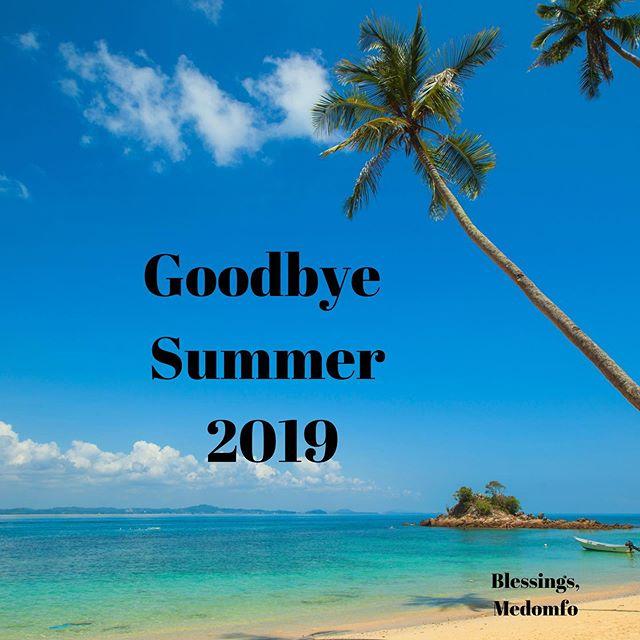 The summer's over, but autumn is here 💖 . . . #graciouscreativity #bye #summer 2019 #sun #beach #sea