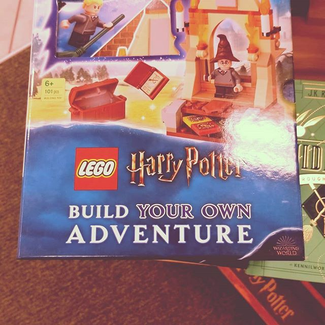 They have three different #Lego #harrypotter #books.