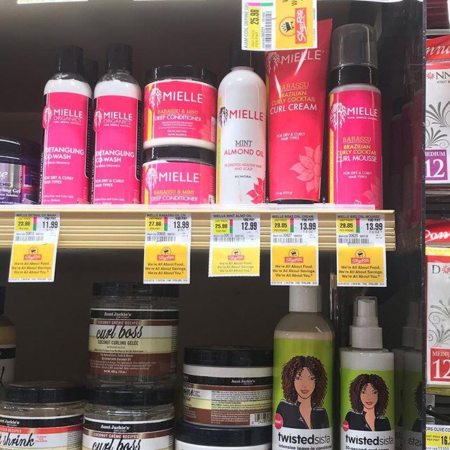 Went to ShopRite and BAM! 🙌🏽 I look for @mielleorganics in every store I go 😂 @exquisitemo #mielleorganics #mielleorganicsOG