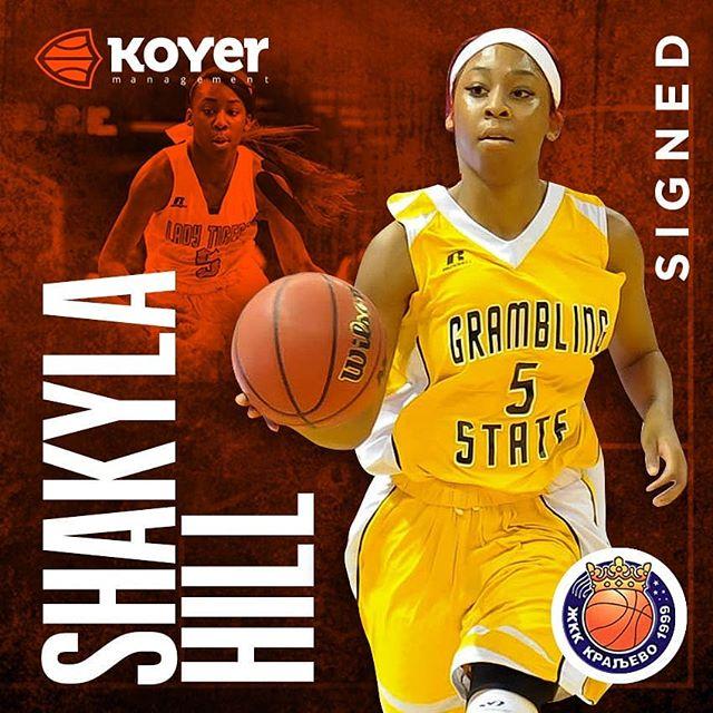 @kraljevozkk are going to ♥️ having @gramblingathletics01 star @shakylaa_ on board this season! #koyersport🔥 #Victorious @victoriouscareer
